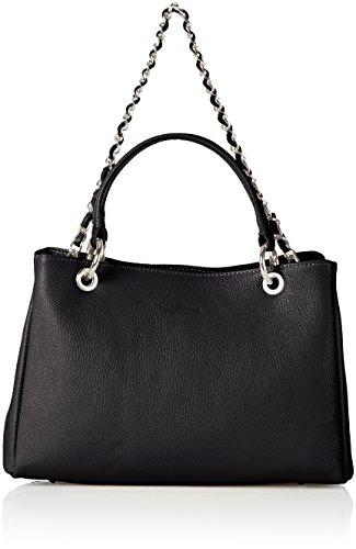 Bags4Less - Dublin, Borse a spalla Donna Nero (Schwarz)