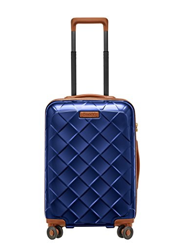 Stratic Leather & More Koffer S, 55 cm, 35 L, Blue