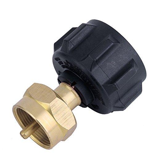 Roblue Adaptador de Botella de Gas para Quemador de Estufa hornillo de Camping de latón (4* 2.5* 6.5cm