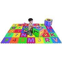 Edushape Foam Blocks, Edutiles Letters and Numbers