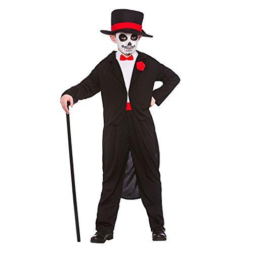 Jungen Tag der Toten Senor Horror Halloween Kostüm Kostüm - Xlarge - 11/13 Jahre