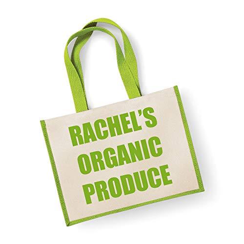 Große Jute Tasche personalisierbar Bio-Produkte grün Tasche Mütter Tag Neue Mama Geburtstag Weihnachtsgeschenk - Personalisierte Wickeltasche Große