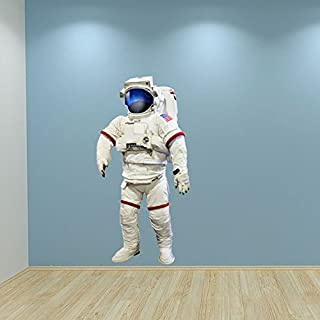 Volle Farbe Astronaut Nasa Raum Wandsticker Schlafzimmer Aufkleber Kinder Spielzimmer Dekoration - Large