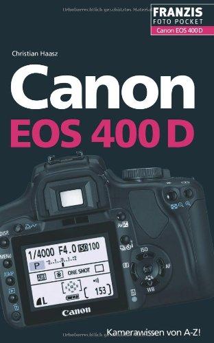 Preisvergleich Produktbild Canon EOS 400D: Der praktische Begleiter für die Fototasche!
