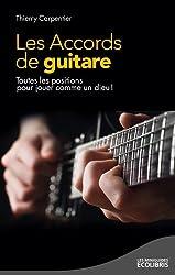 Les accords de guitare