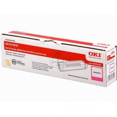 Preisvergleich Produktbild Lasertoner, für C-810 / N / DN / CDTN / 830NDN / CDTN, 8.000 Seiten, magenta