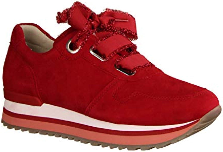 Gabor 26.445.48, scarpe da ginnastica ginnastica ginnastica Donna Rosso rosso, Rosso (rosso), 40 EU | Export  85884a