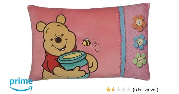 42 x 28 cm rosa Winnie Puuh Joy Toy 15228 Kissen bestickt