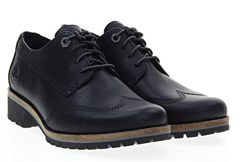 TIMBERLAND scarpe donna inglesine A1J3N Nero