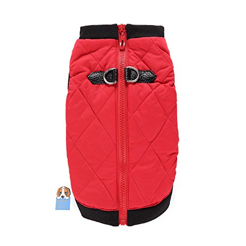 Awhao Pet Dogs Winter Vest Coat Casual Pet Jacket Apparel Warm Soft Light Waterproof Padded Puffer Winter Clothes For Small to Large Dog