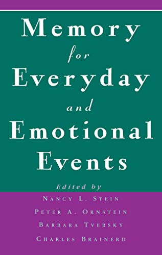 Memory for Everyday and Emotional Events (English Edition)