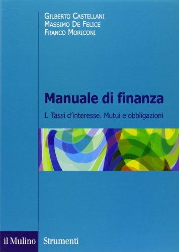 Manuale di finanza: 1