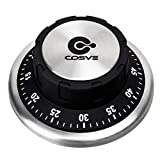 Best Kitchen Timers - Kitchen Timer, COSVE Mechanical Kitchen Timer, Stainless Steel Review