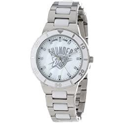 "Game Time Women's NBA-PEA-OKC ""Pearl"" Watch - Oklahoma City Thunder"