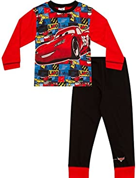 Disney Cars Pijama 2A 7años McQueen Cars pijama Disney Long coches Pjs W16