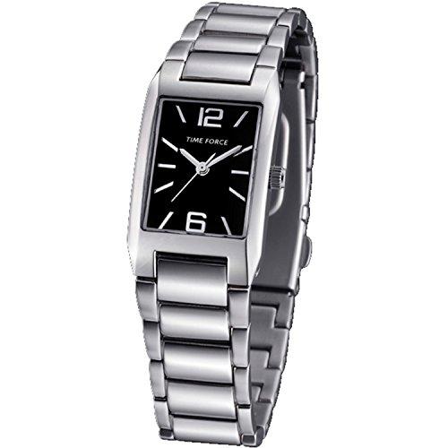 Time Force tf-3210l01m–Montre analogique pour femme. Bracelet en acier inoxydable couleur argenté.