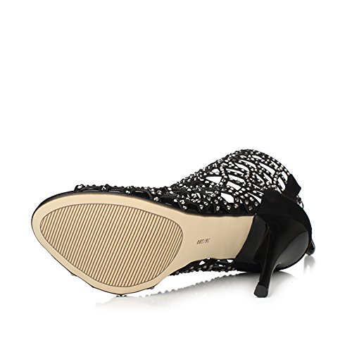 fereshte ,  Damen Peep Toes NO.218 Black