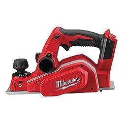 Milwaukee 4933451113 Akku-Handhobel M18BP/0, 12 W, 12 V