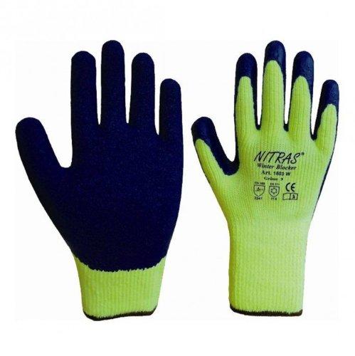 Nitras® 1603W Winter Blocker Winterhandschuhe - verschiedene Größen, Größe:09