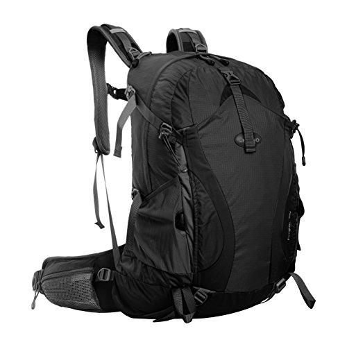 borsa a tracolla di alpinismo esterno / sacchetto impermeabile grande capacità / tempo libero pacchetto escursioni-Nero 30L Nero