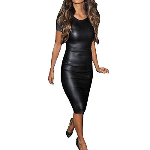 VJGOAL Damen Kleider, Damen Sexy Kleider Party Minikleid -