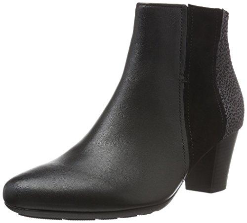 Gabor Shoes 56.581 Damen Kurzschaft Stiefel, Schwarz (Schwarz (micro) 27), 38.5 EU (5.5 Damen UK)
