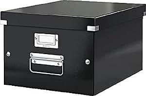 LEITZ boîte a4–click store/6044–00–95 &-noir - 265 x 188 x 335 mm