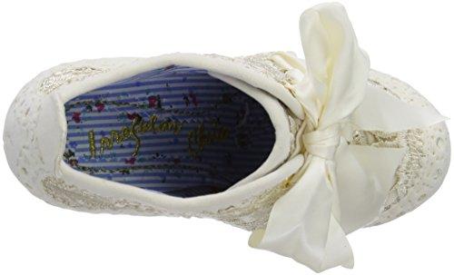 Irregular Choice Abigail's Third Party, Damen Stiefel Elfenbein (Cream)