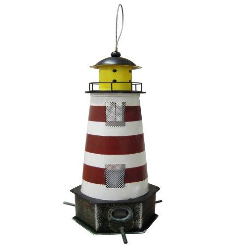 "Habau 1789 Futtersilo ""Leuchtturm"" rot"