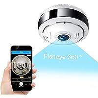 FREDI IP wlan Sicherheitskamera Kamera Überwachungskamera mit Nachtsicht Bewegungserkennung 2 Wege Audio Home Indoor Kamera (ec6)