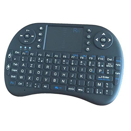 Un clavier azerty au large touchpad