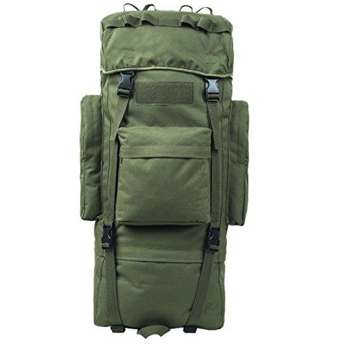 LF&F Backpack Camping outdoor Zaini Borse Zaino da tattica a camuffamento da 110 litri multiuso impermeabile tracolla staccabile alpinismo escursionismo zaino da equitazione A2 110L B1