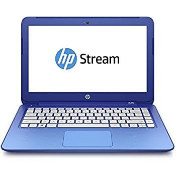 "HP Stream 13-c005ns - Portátil de 13.3"" (Intel Celeron N2840, 2 GB de RAM, Disco eMMC 32 GB SSD, Intel HD Graphics, Windows 8.1 ), azul horizonte -Teclado QWERTY Español"