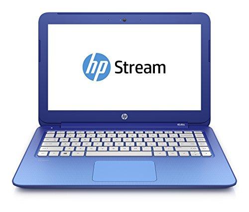 Foto HP Stream 13-c028nl Notebook, Processore Intel Celeron, SDRAM DDR3L-1333 da 2 GB, Intel Graphic HD, eMMC da 32 GB, Blu Cielo
