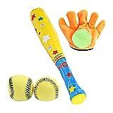 Merssavo Spielzeug Baseball Set, Kinder Baseball Bat Spielzeug T-Ball Set Körperliche Ausbildung Sport Spielzeug für Outdoor Indoor