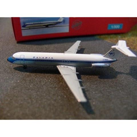 Herpa 524810 - Maqueta - Baviera aerolínea BAC 1-11-500