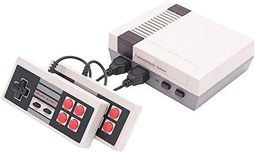 Brigamo Arcade Classic Mini Konsole, Spielkonsole mit 2 Joypads und 500 Videospiele