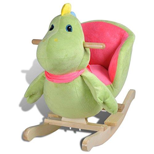 *vidaXL Baby Schaukeltier Schaukelpferd Dinosaurier Schaukel Spielzeug Kinder*
