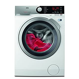 AEG L7FE76695 Waschmaschine / ProSteam - Auffrischfunktion / 9 kg / Leise / Mengenautomatik / Nachlegefunktion / Schontrommel / Allergikerfreundlich