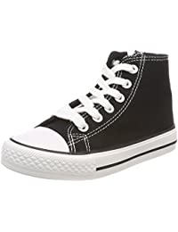 Canadians Jungen 467 184 Hohe Sneaker, Schwarz (Black), 27 EU