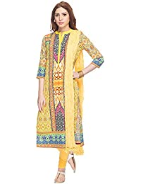 Haute Curry By Shoppers Stop Womens Printed Churidar Suit