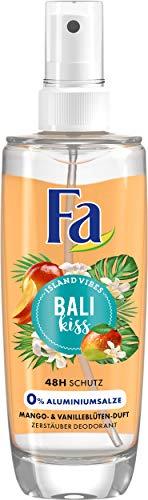 Fa Bali Kiss Zerstäuber Deodorant, 5er Pack (5 x 75 ml)