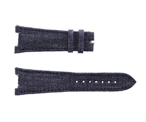 Patek Philippe Nautilus Style - Correa para Reloj (25 mm), Color Azul