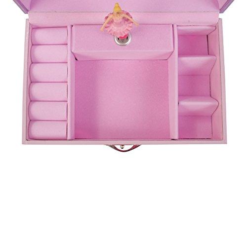 Fee Schmuckkästchen - Rosa Spieluhr für Kinder - Lucy Locket - 6