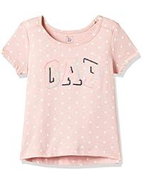 GAP Baby Girls' Plain Regular Fit T-Shirt