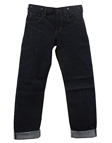Aloha Beachwear Jeans Boot Cut Uomo Blu Denim 38W x 36L