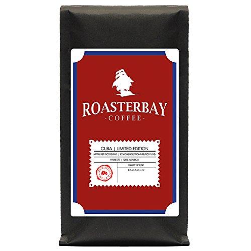 Roasterbay Premium Kaffee aus Kuba 400g | Gourmet - Ganze Bohne - Röstkaffee | 100% Arabica | schonende Trommelröstung aus fairem Handel | wenig Säure