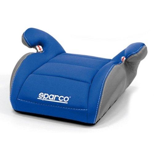 SPARCO SPC3002AZ3CM Booster Sitz für Kinder Gruppe III Blau/Grau 3Cm, Blue