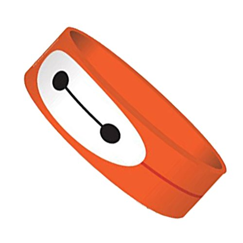 Big Hero 6 baymax Gummi Armband (orange)