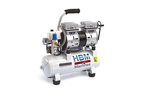 HBM 9litros profesional Silencioso Compresor